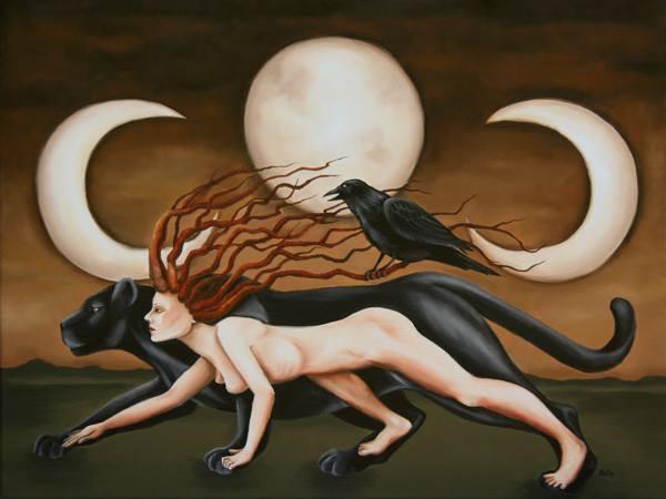 Full Moon Scorpio Art by dzaet